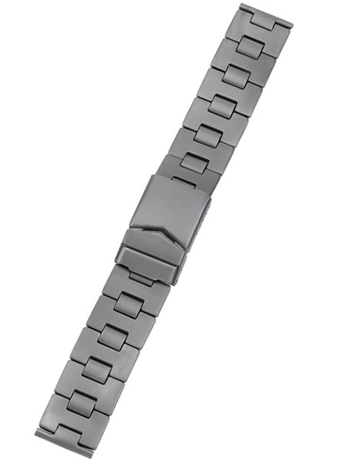 Vollmer Matte Finish Titanium Bracelet with Deployant Clasp #03251H5-22 (22mm)