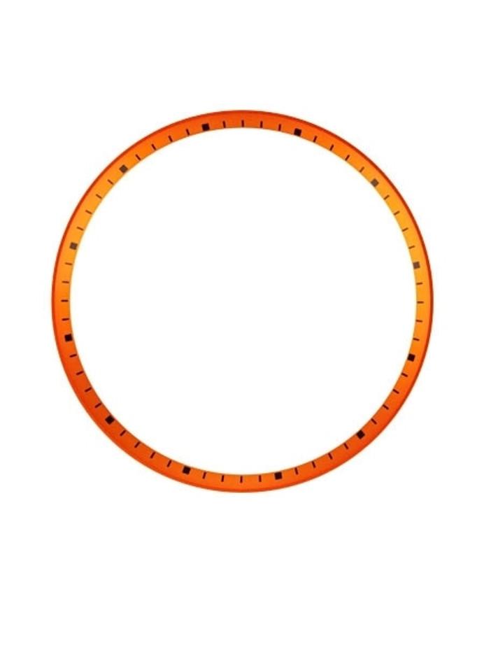 Matte Orange Chapter Ring for Seiko SKX007, SKX009, SKX011 Watches #R05