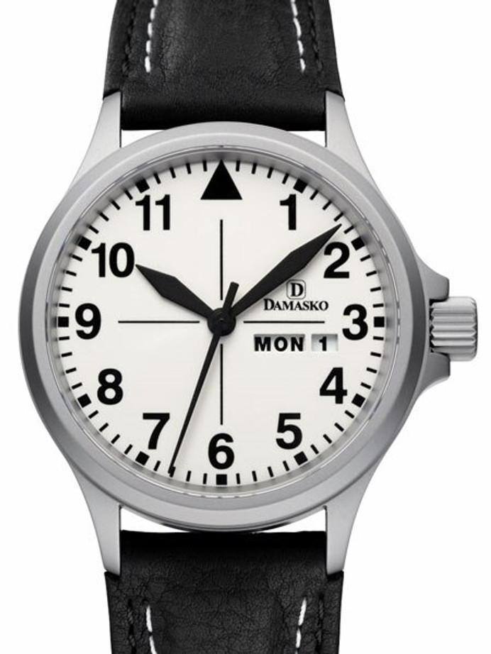 Damasko Swiss ETA Automatic with a 40mm Bead-Blasted Case, Luminous Dial #DA37