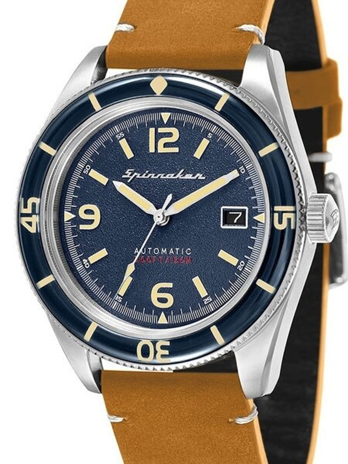 Spinnaker Fleuss Automatic Vintage Style Sports Watch with 43mm Case #SP-5055-05