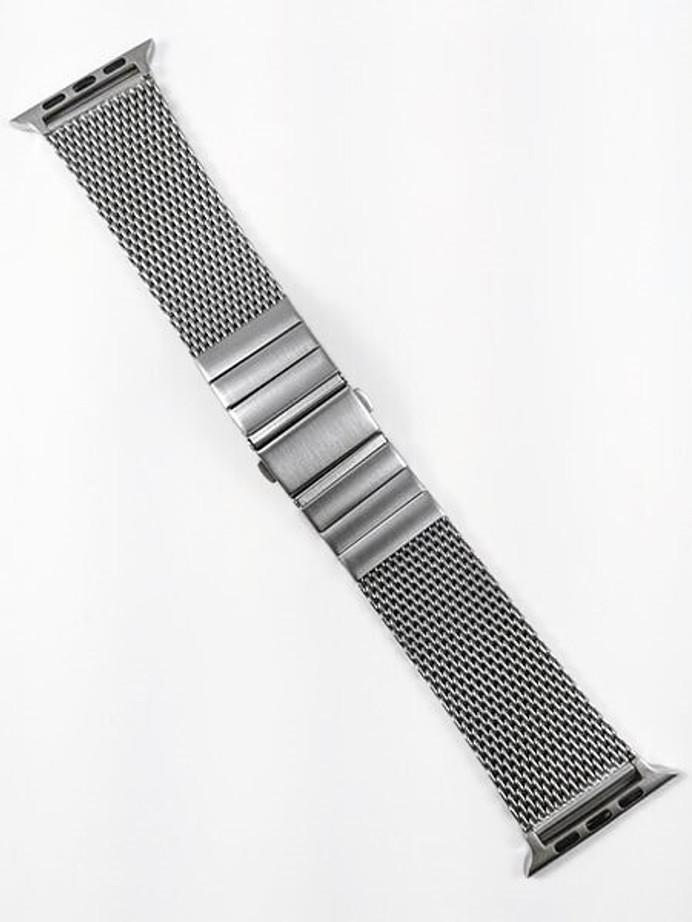 Vollmer Brushed Finish Mesh Bracelet for 42mm Apple Watch #999462AP42 (22mm)
