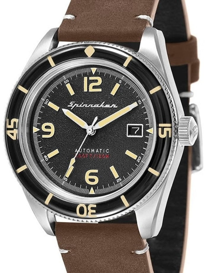 Spinnaker Fleuss Automatic Vintage Style Sports Watch with 43mm Case #SP-5055-01