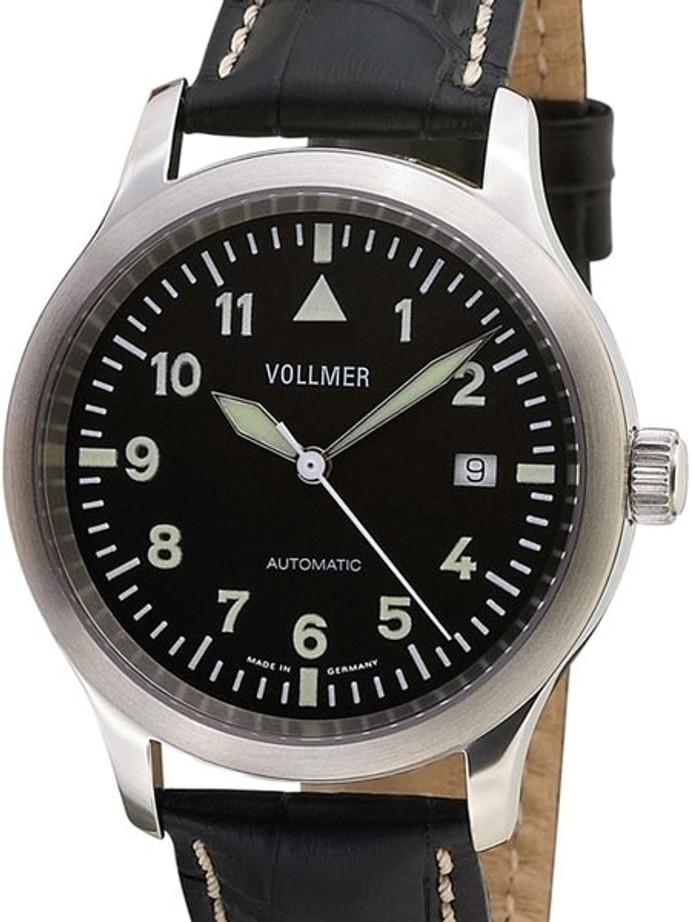 Vollmer V7 Kommandant Swiss ETA Automatic Aviator Officer Watch with Sapphire Crystal