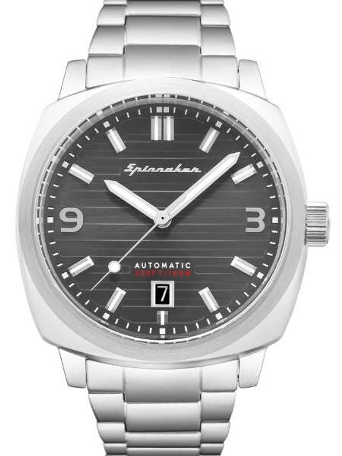 Spinnaker Hull Automatic Sports Watch with 42mm Case and Textured Dial #SP-5073-11