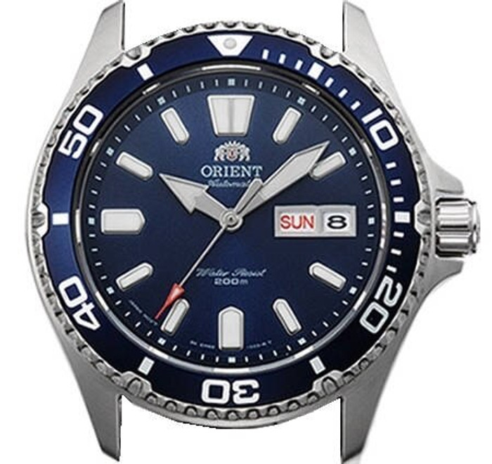 Scratch and Dent - Orient USA II Blue Dial Automatic Dive Watch with Sapphire Crystal #AA0200BD