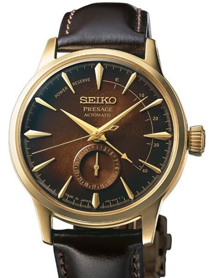 "Seiko Presage ""Cocktail Time"" Limited Edition Automatic Dress Watch with 40mm Case #SSA392"