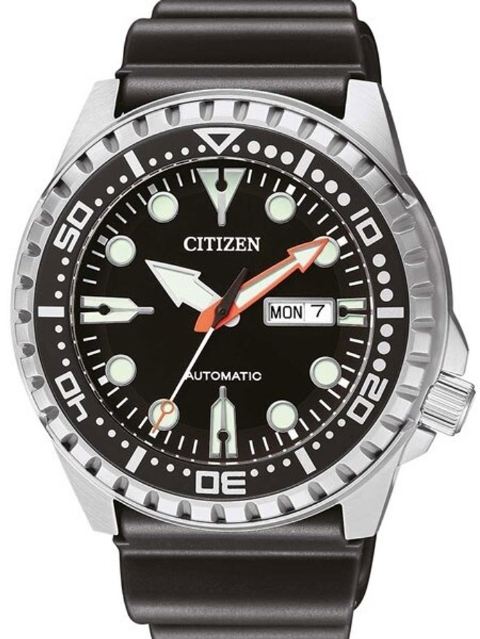 Citizen Automatic Marine Sport Watch with Rubber Dive Strap #NH8380-15E
