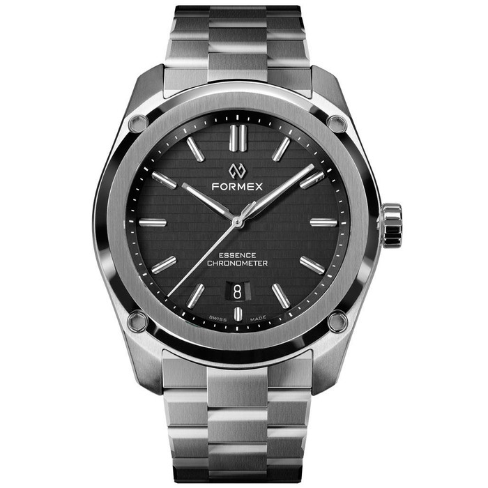 Formex Essence Swiss Automatic Chronometer with Black Dial #0330.1.6321.100