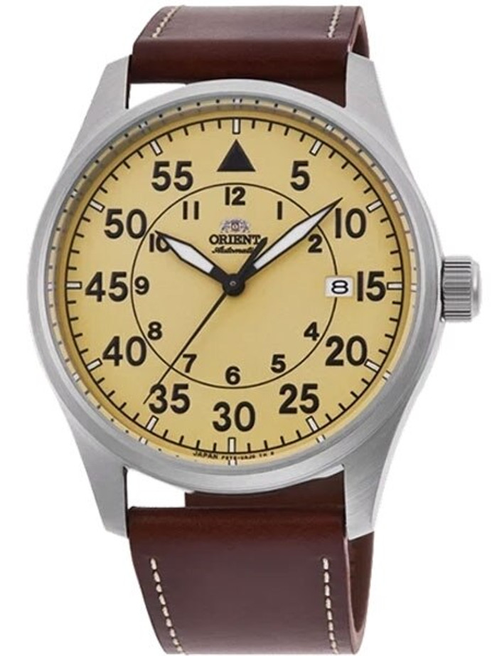 Orient 22-Jewel Automatic Watch with Hand Winding and Hacking #RA-AC0H04Y10A
