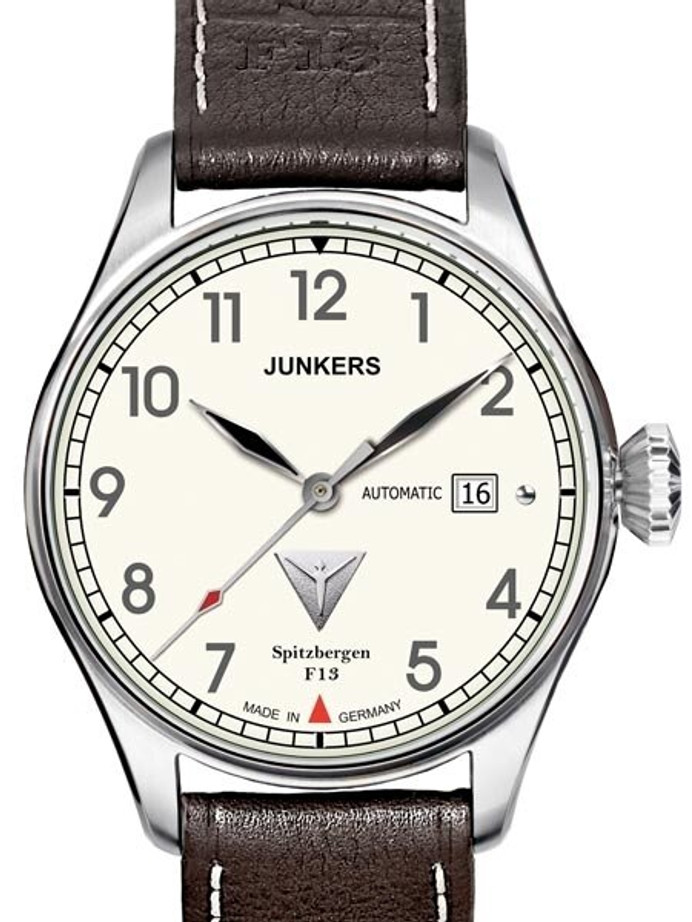 SCRATCH AND DENT - Junkers Spitzbergen F13 Miyota Automatic (self-winding) Watch #6164-5-SND