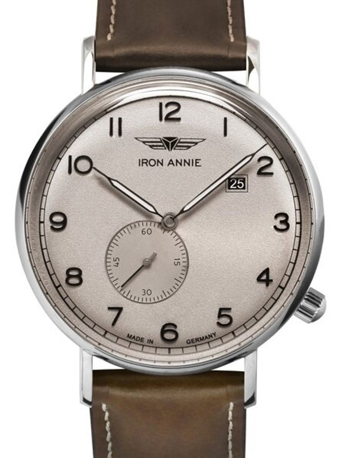 Iron Annie Amazonas Impression Swiss Quartz Dress Watch with Small Seconds, Date #5934-5