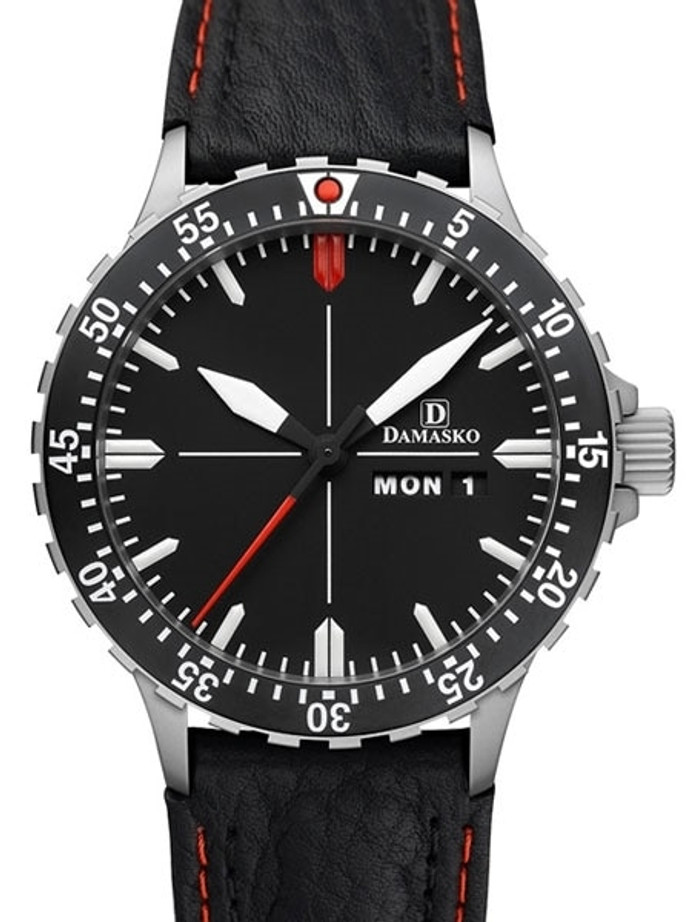 Damasko Swiss ETA Automatic with a Rotating 60-minute Bezel and Stainless Steel Case #DA44