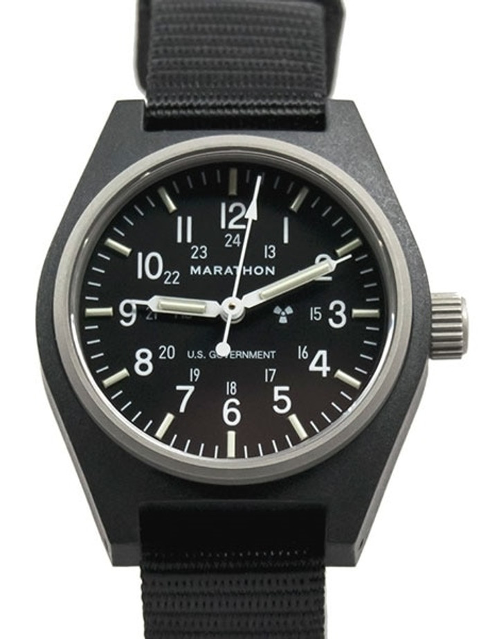 Marathon Automatic and Hand Winding General Purpose Watch with Tritium Illumination #WW194003