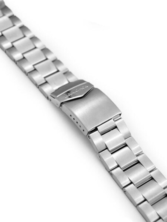 Marathon Brushed Finish Solid Link Bracelet #WW005005NM (20mm)