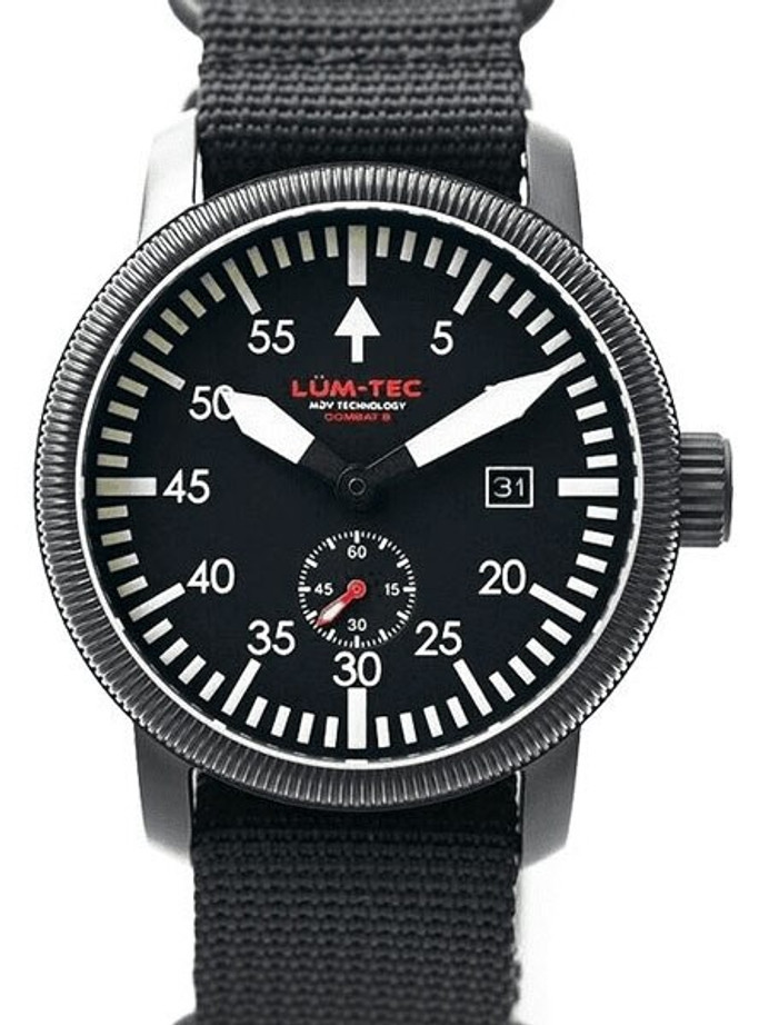 Lum-Tec Combat 40 Watch with Double Curved Sapphire Crystal #Combat B40