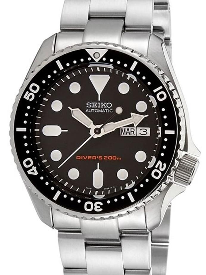 """Seiko SKX007 Divers Automatic Watch Super-O """"Boyer"""" Edition #SKX007"""