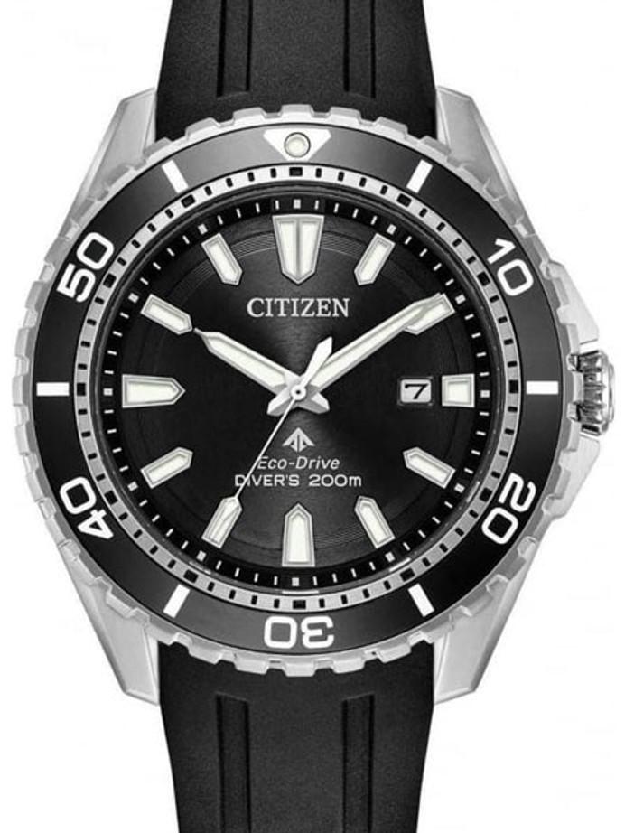 Citizen Eco-Drive Promaster 200 Meter Scuba Diver Watch with Dive Strap #BN0190-15E