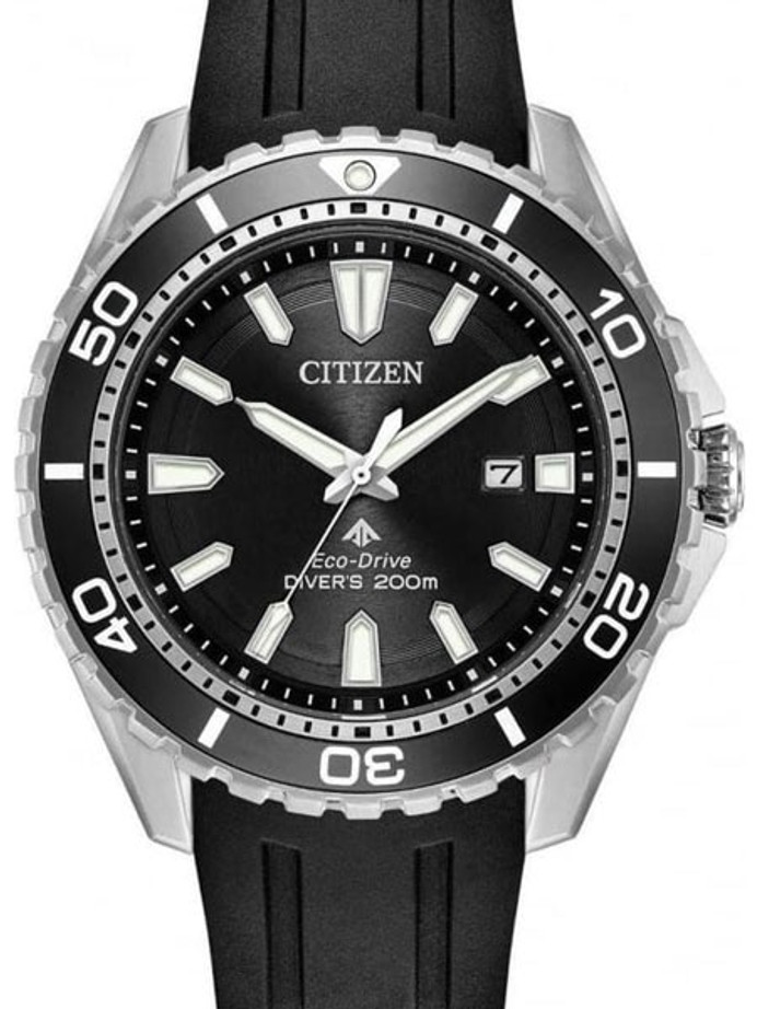 Citizen Eco-Drive Promaster 200 Meter Scuba Diver Watch with Dive Strap #BN0190-15E