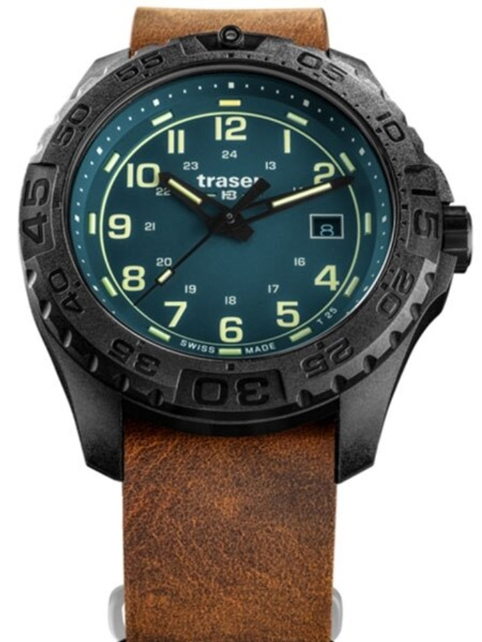 Traser Swiss Tactical Watch with Trigalight Illumination and AR Sapphire Crystal #109040