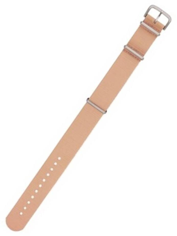 Traser OEM Beige Nylon Watch Strap #Traser6