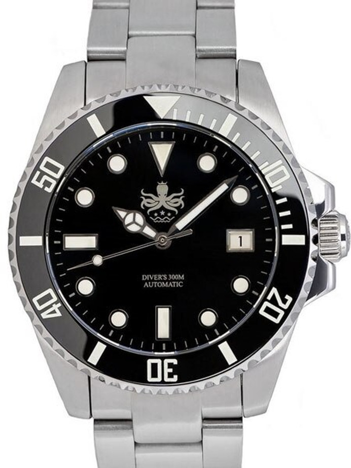 PHOIBOS 300-Meter Automatic Dive Watch with AR Sapphire Crystal #PY007C