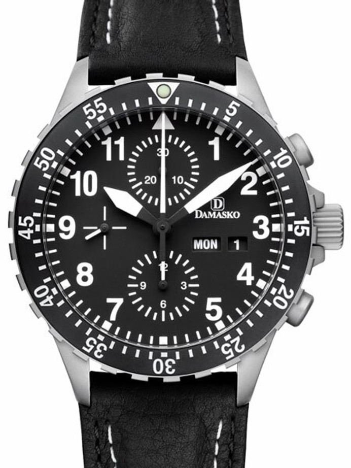 Damasko Swiss Valjoux 7750 Chronograph with 60 Minute Dive Bezel #DC66