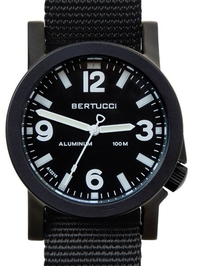 Bertucci Experior Anodized Aluminum Unibody Watch with Nylon Strap #16500