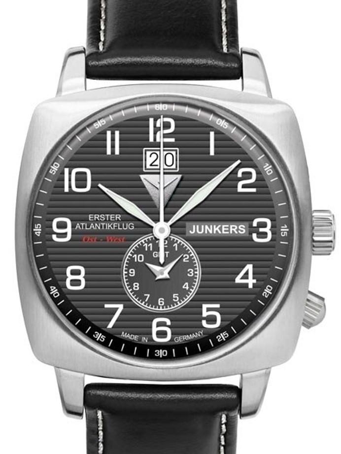 Junkers 1st Atlantic Flight Dual Time, Big Date Watch #6440-2