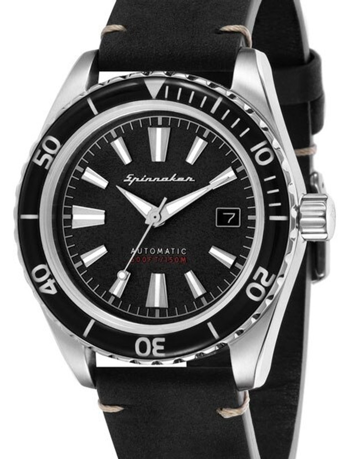 Spinnaker Fleuss Automatic Vintage Style Sports Watch with 43mm Case #SP-5056-01