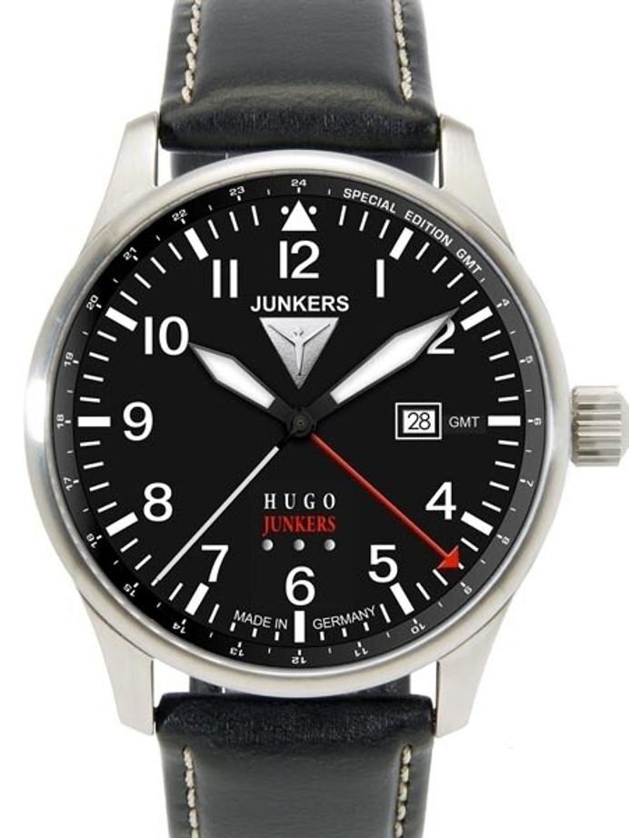 Junkers 150 Years Hugo Junkers Anniversary 40mm GMT Watch #6644-2