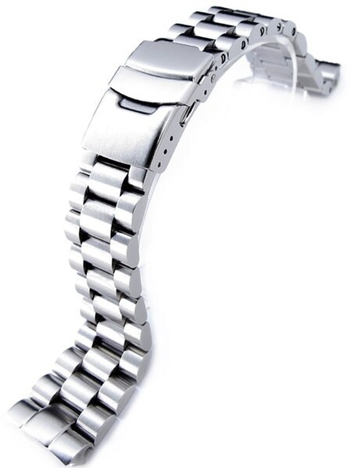 Scratch and Dent - Strapcode 22mm Endmill 316L Stainless Steel Watch Bracelet for Seiko New Turtles SRP777 & PADI SRPA21 Diver #SS221803B045