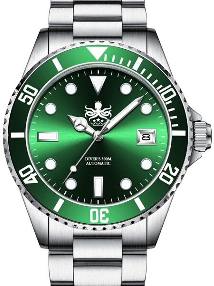 PHOIBOS 300-Meter Automatic Dive Watch with AR Sapphire Crystal #PY007A