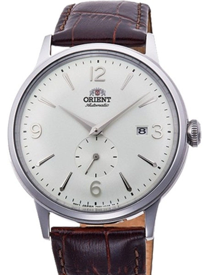 Orient Small Seconds Automatic Dress Watch with White Dial #RA-AP0002S10A