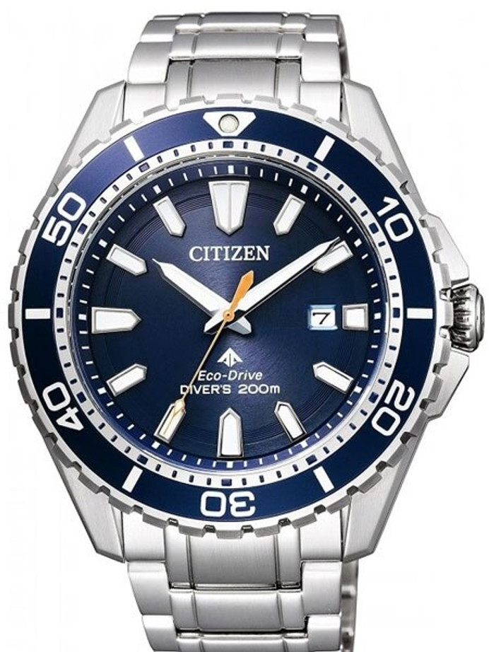 Citizen Eco-Drive Promaster 200 Meter Scuba Diver Watch with Bracelet #BN0191-80L