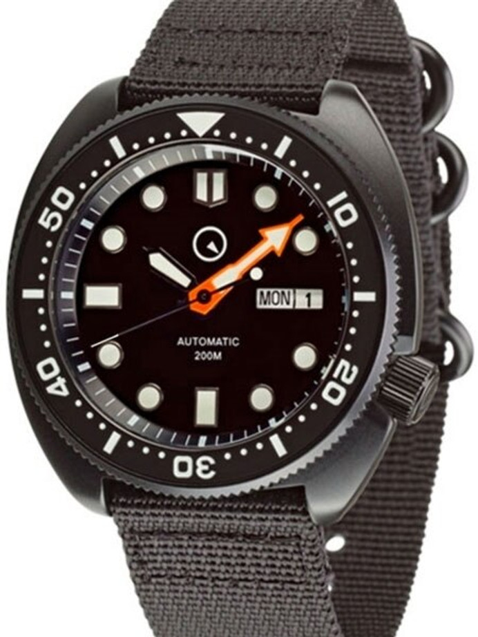 Manufacturer Refurbished - Islander Automatic Dive Watch with AR Double Dome Sapphire Crystal, and Luminous Bezel Insert #ISL-13