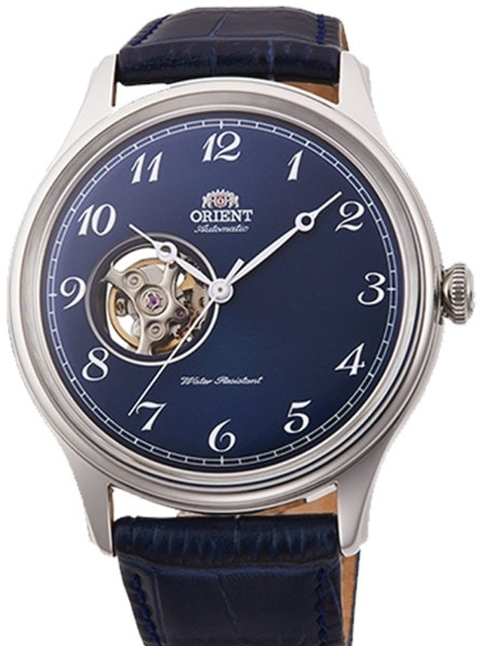 Orient Envoy Version 2 Open-Heart Automatic Watch with Leather Strap #RA-AG0015L10A