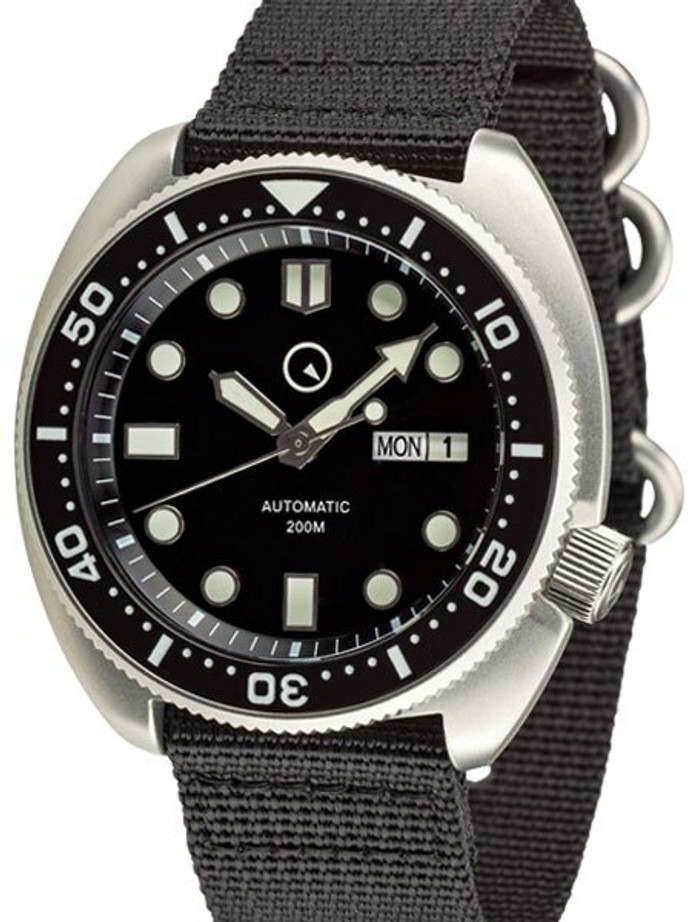 Islander Automatic Dive Watch with AR Double Dome Sapphire Crystal, and Luminous Ceramic Bezel Insert #ISL-12