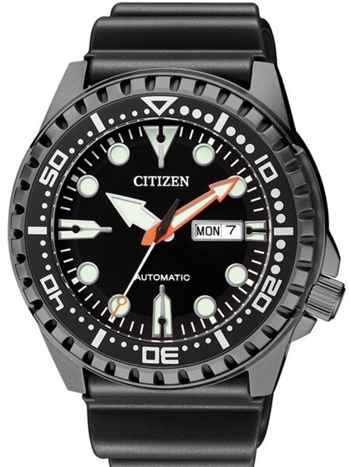 Citizen Automatic Marine Sport Watch with Rubber Dive Strap #NH8385-11E