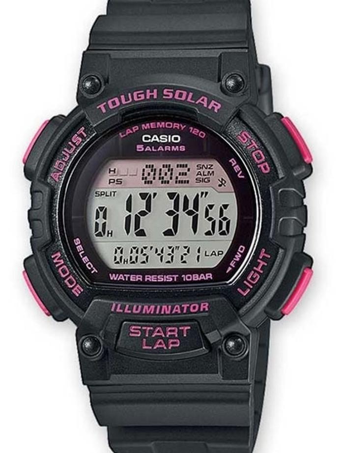 Casio Women's Tough Solar-Light Powered Digital Chronograph Alarm #STL-S300H-1C