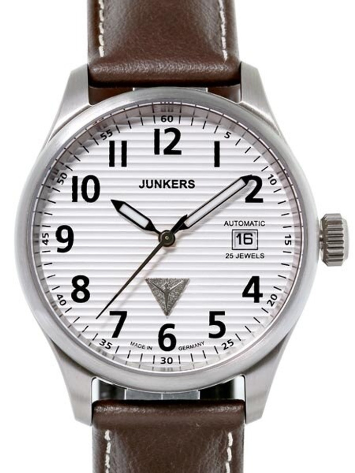 Junkers  JU-52 Swiss ETA 2824-2 Automatic Watch with Sapphire Crystal #6256-1