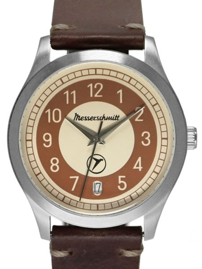 Messerschmitt Retro Dial Quartz Watch with 38mm Case #KR201-B