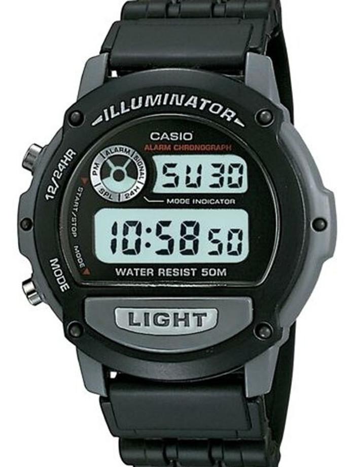 Casio Sport Illuminator Watch with Alarm and Stopwatch #W-87H-1V