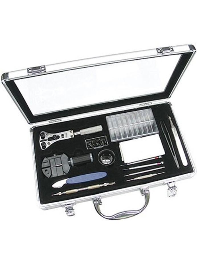 Professional Watch Tool and Strap Change Kit with Aluminum Case #TSA6002