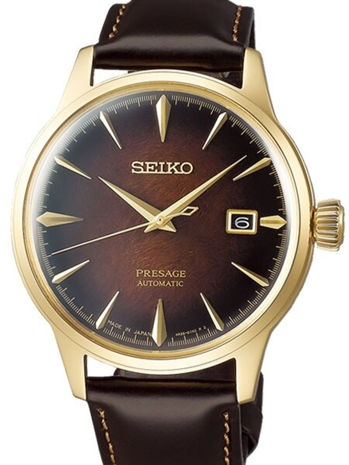 "Seiko Presage ""Cocktail Time"" Limited Edition Automatic Dress Watch with 40mm Case #SRPD36"