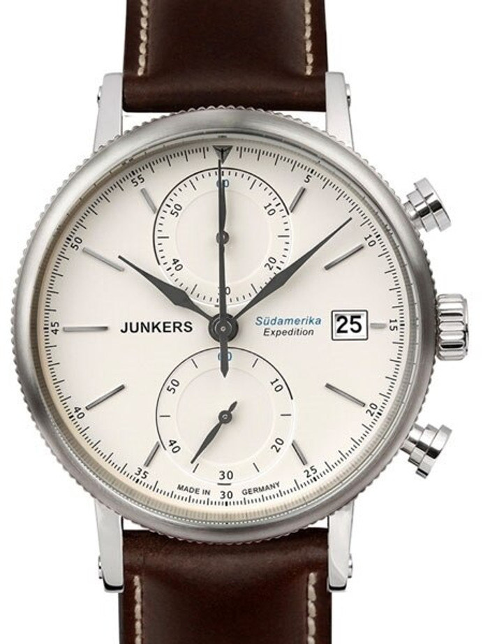 Junkers Expedition South America Quartz Chronograph with 60-Minute Stopwatch #6588-5