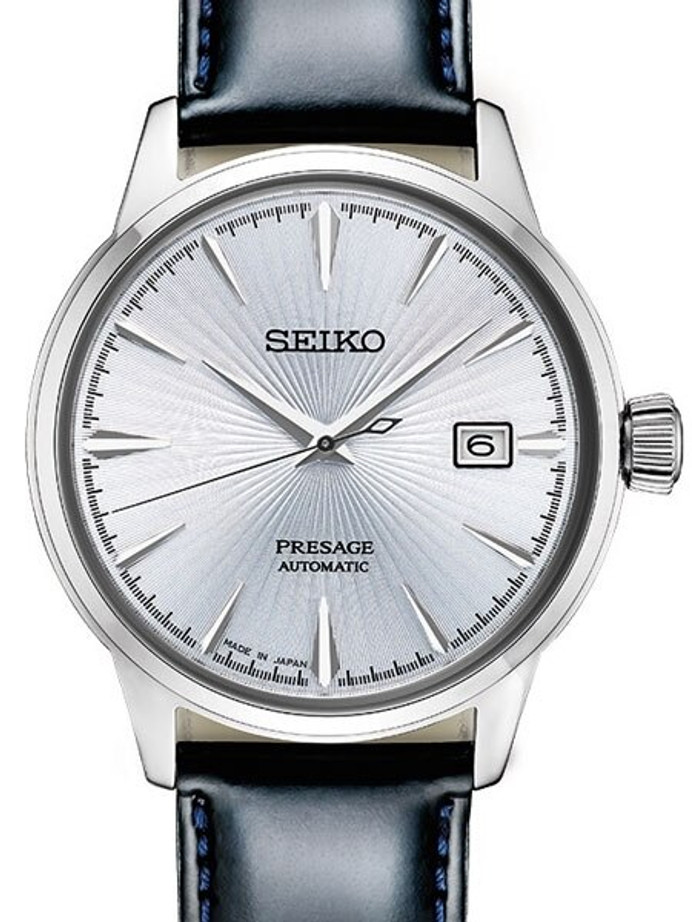 "Seiko Presage ""Cocktail Time"" Automatic Dress Watch with 40mm Case #SRPB43"