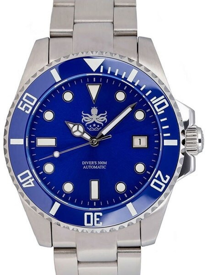 PHOIBOS 300-Meter Automatic Dive Watch with AR Sapphire Crystal #PY007B