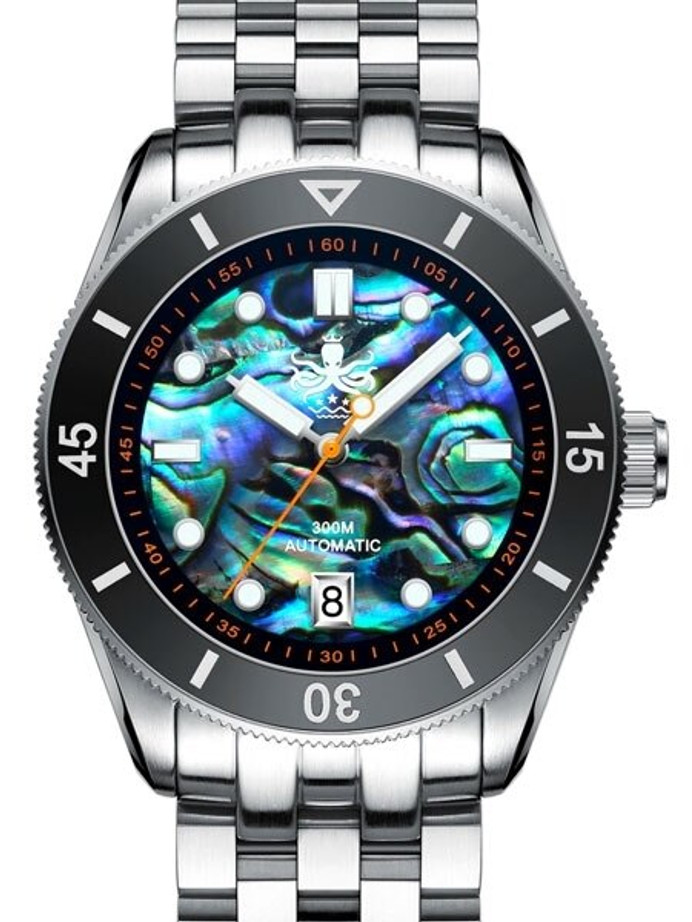 PHOIBOS Wave Master 300-Meter Automatic Dive Watch with AR Sapphire Crystal #PY010E