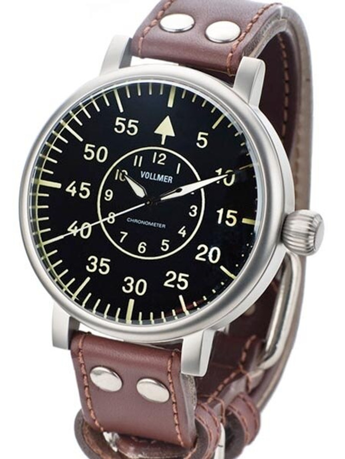 Vollmer W584B Kampfgruppen WWII-Style 55mm Limited Edition COSC Certified Chronometer