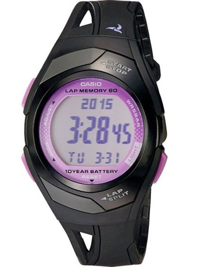 Casio Sport Runners Watch with 60 Lap Memory, Pace Signal, and Distance Calculation #STR-300-1C